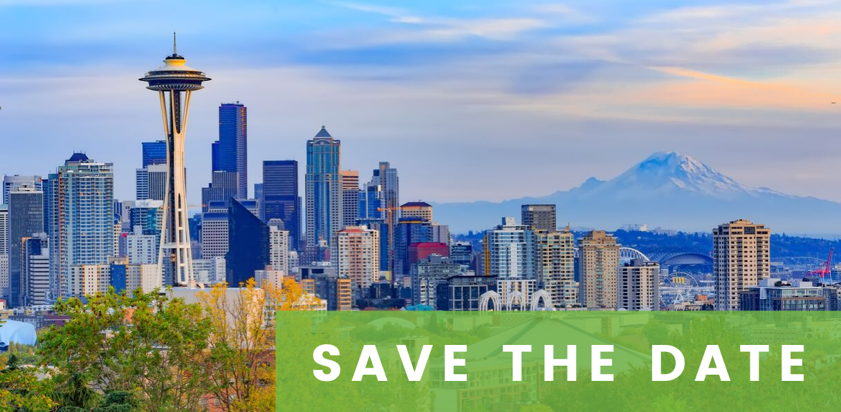 Save the Date: 2020 Annual Conference - Seattle Skyline