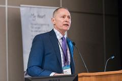 Dave Biemesderfer presenting