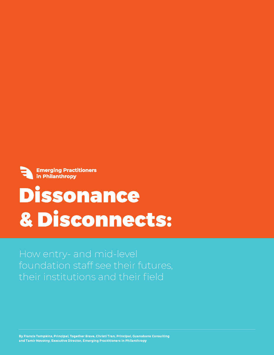 Dissonance & Disconnects Report Cover