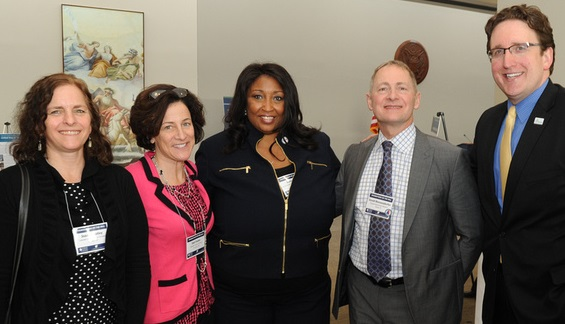 Joanne Kelley, Colorado Association of Funders; Deb Dubin, Gateway Center for Giving; Janine Lee, Southeastern Council of Foundations; David Biemesderfer, Florida Philanthropic Network; Paul Daugherty, Philanthropy West Virginia. Photo courtesy of the Council on Foundations.