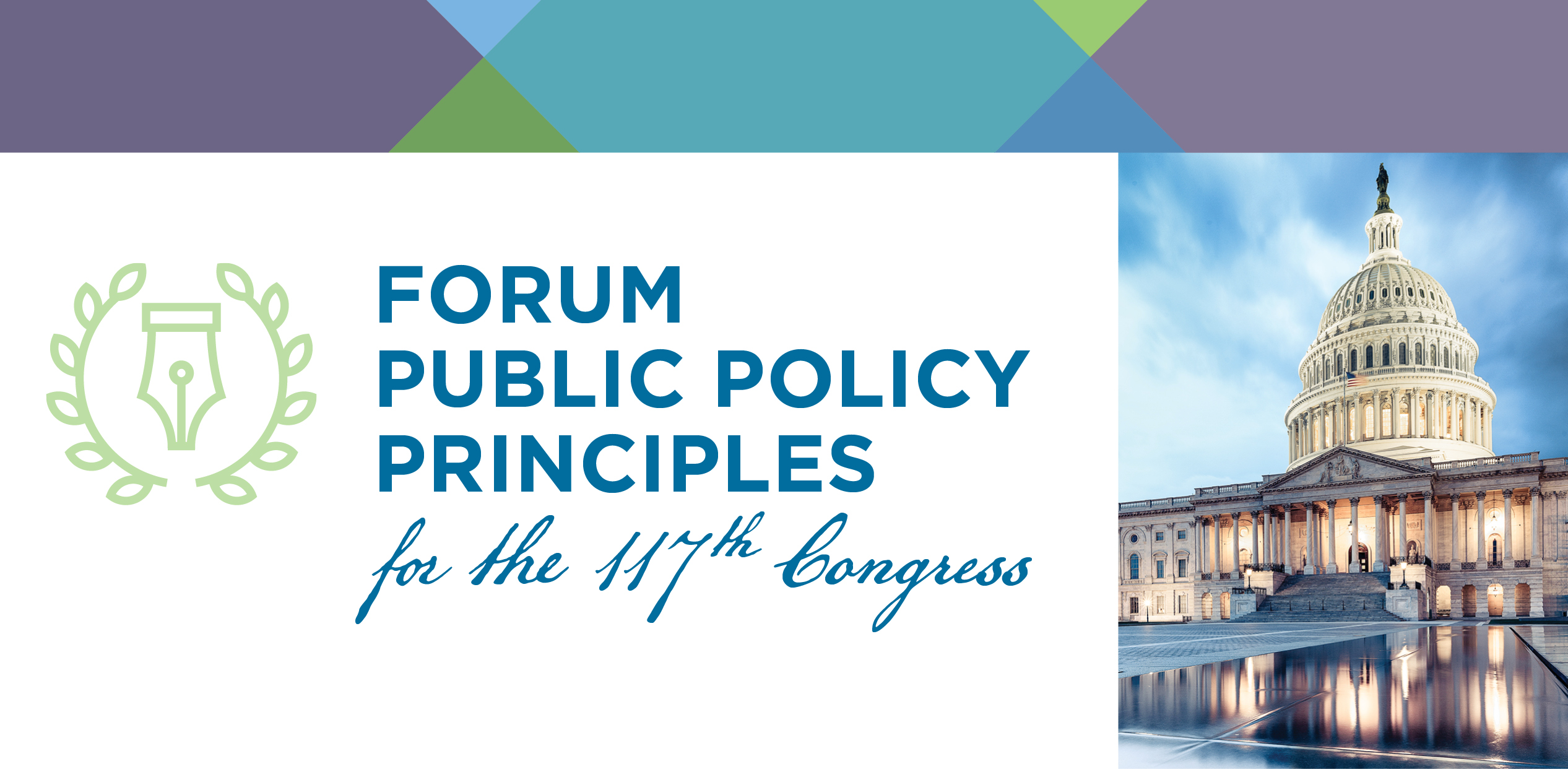 Forum Public Policy Principles for the 117th Congress
