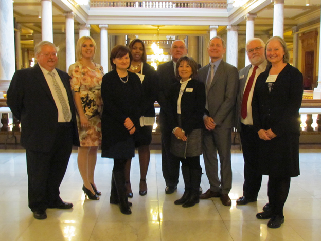 Attendees at Indiana Philanthropy Alliance's Day at the Statehouse