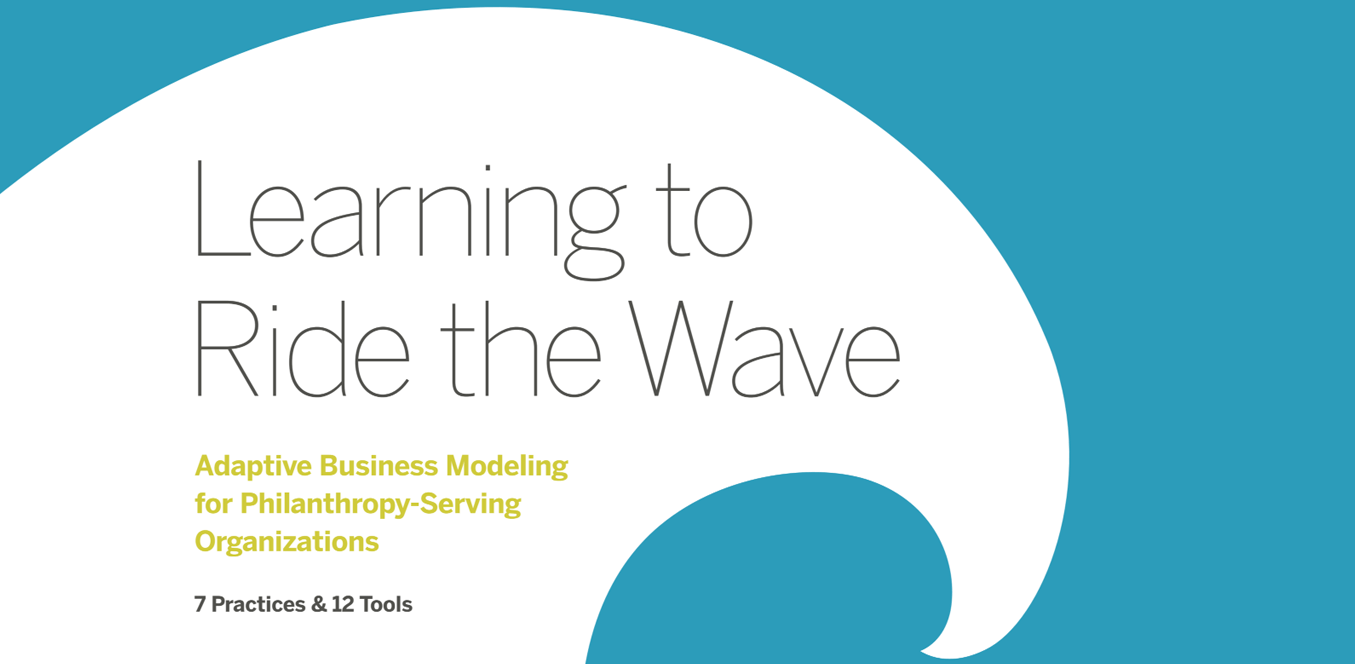 Learning to Ride the Wave: Adaptive Business Modeling for PSOs Report Cover