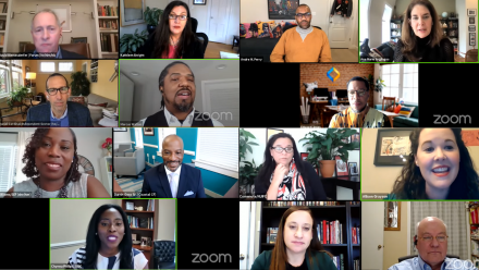 Foundations on the Hill 2021 screenshot of Zoom meeting