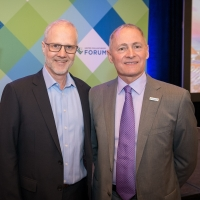 Grant Oliphant, Heinz Endowments, and David Biemesderfer, United Philanthropy Forum