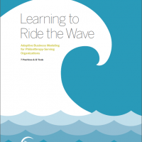 Learning to Ride the Wave: Adaptive Business Modeling for Philanthropy-Serving Organizations