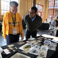 Thomas Allen Harris, a filmmaker, photographer, and host of Family Pictures USA, traveled to North Carolina, among other places, to invite people from all walks of life to share their family photo albums.