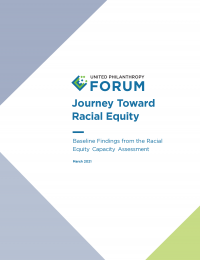 Journey Toward Racial Equity Report Cover
